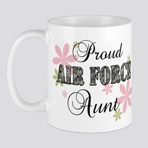 Air Force Aunt [fl camo] Mug